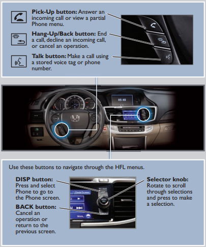 Pair Your Phone to Honda Bluetooth HandsFreeLink
